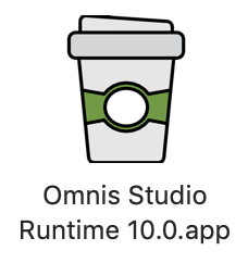 Omnis macOS runtime with icon